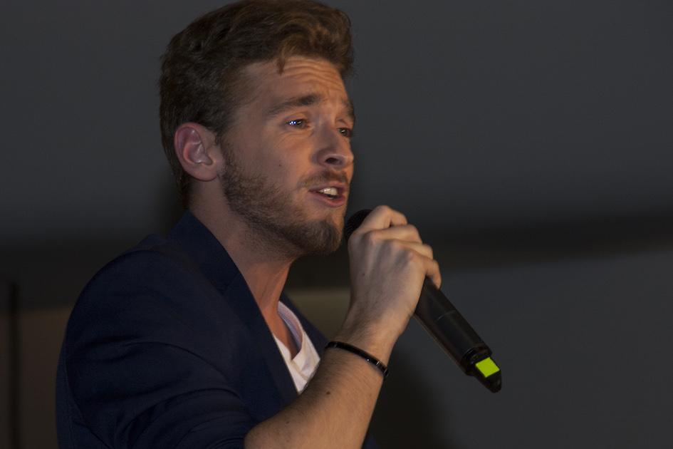 Nathan Trent bei der Miss Vienna Wahl 2017