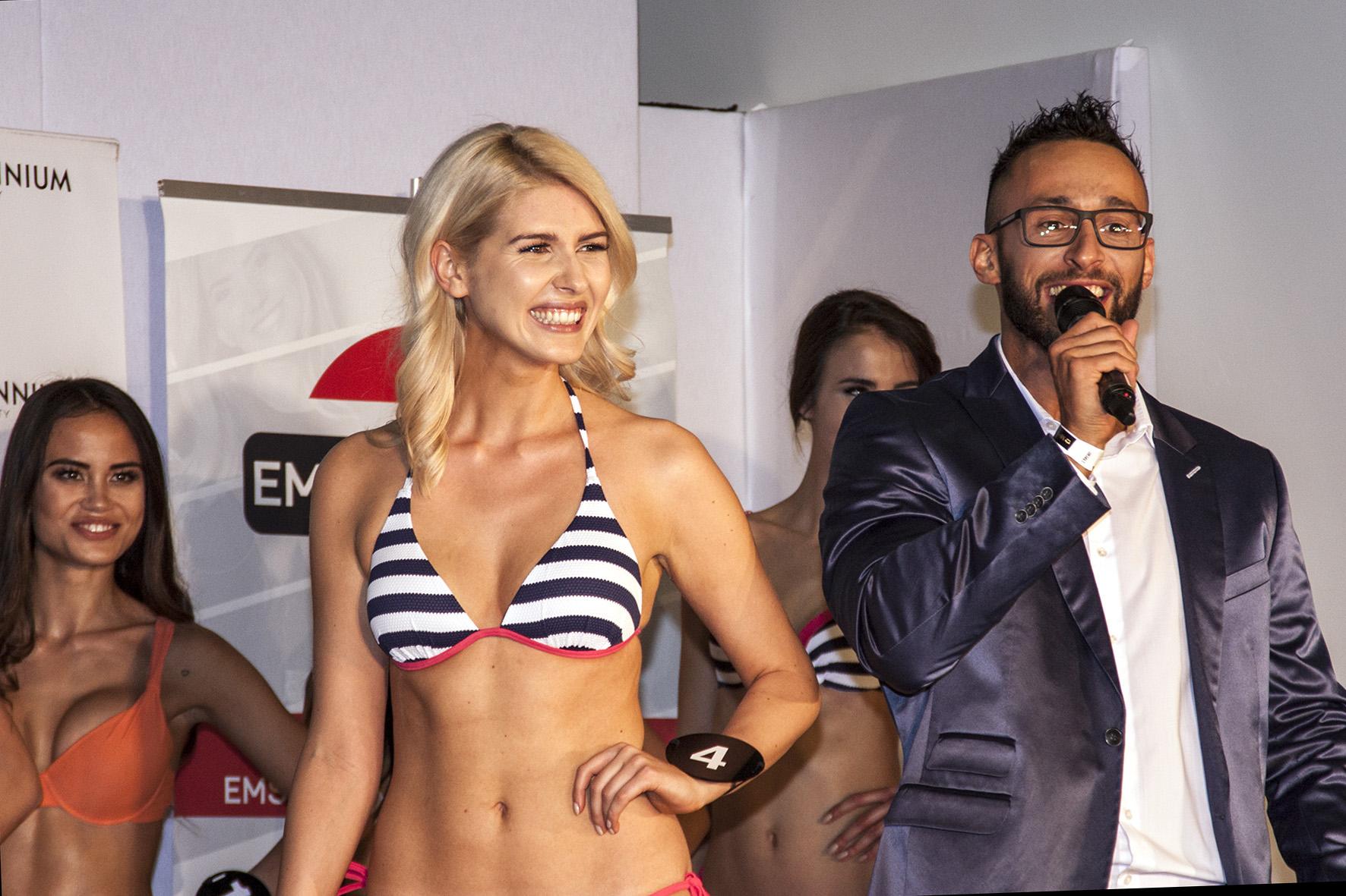 Bikiniparade bei der Miss Vienna Wahl 2017