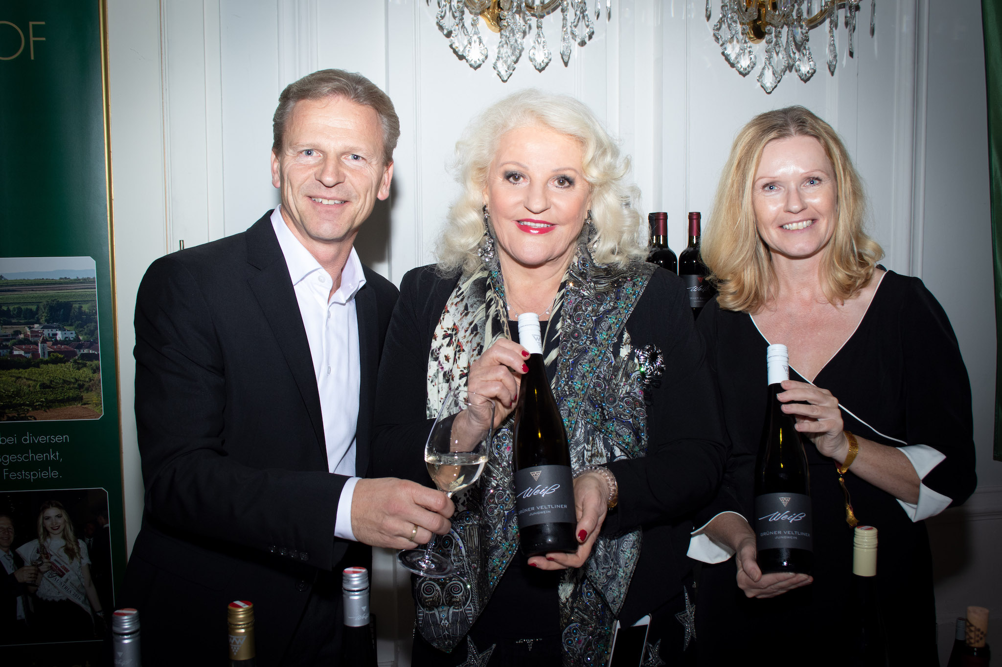 Josef Weiß, Marika Lichter und Renate Weiß