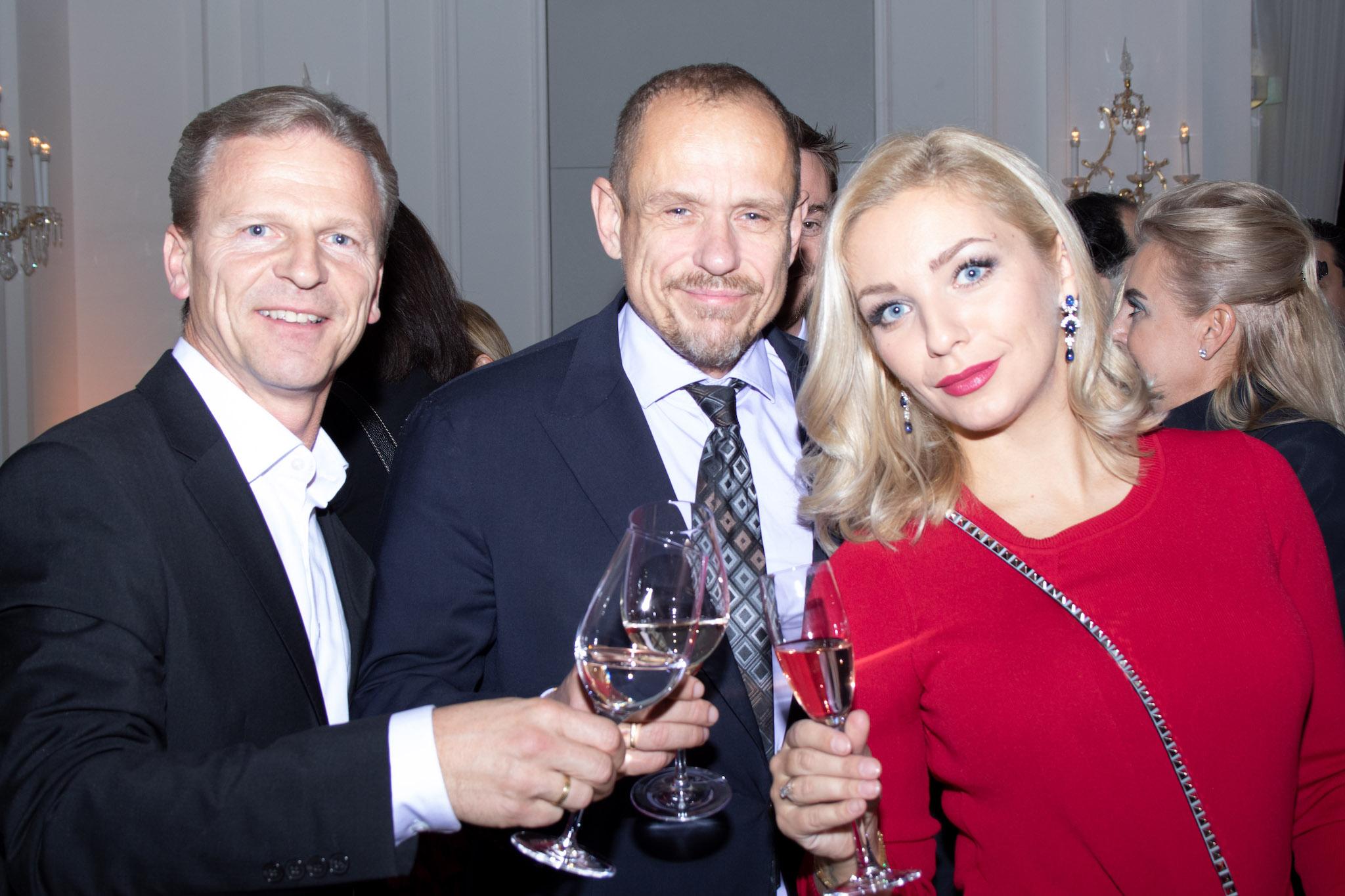 Josef Weiß mit Gerry Keszler