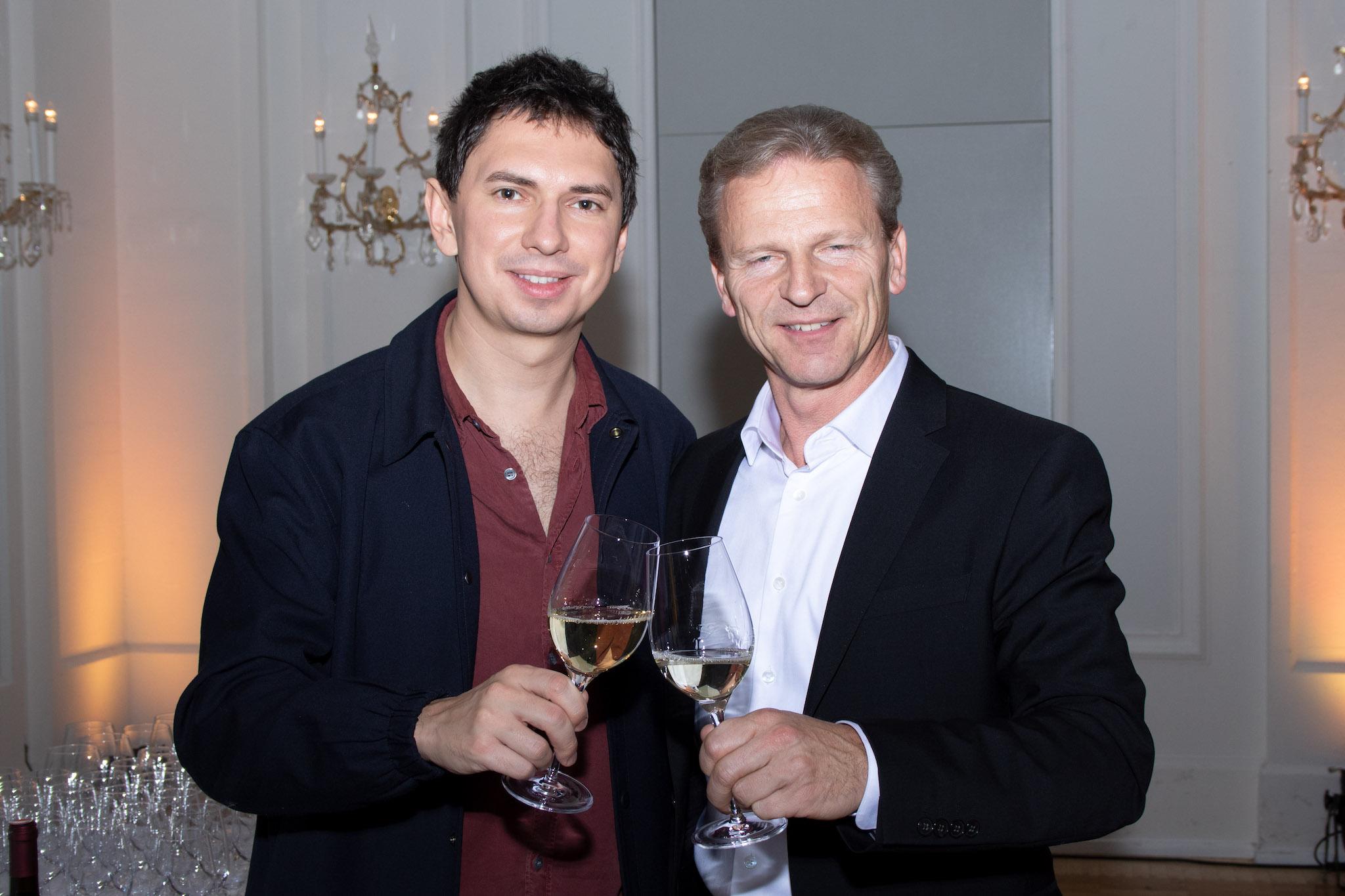 Josef Weiß mit Julian le Play