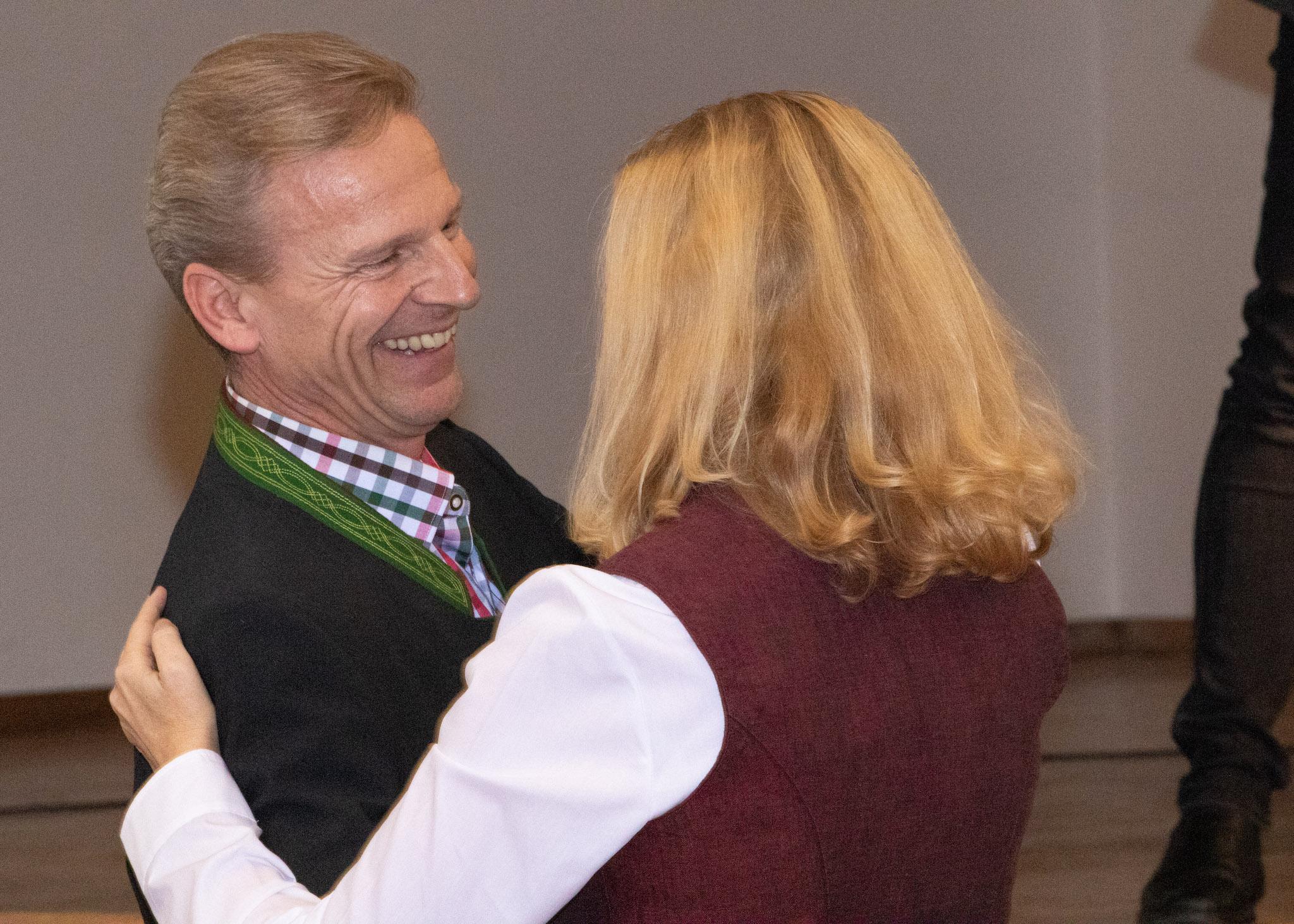 Weintaufe 2019 Josef und Renate Weiss