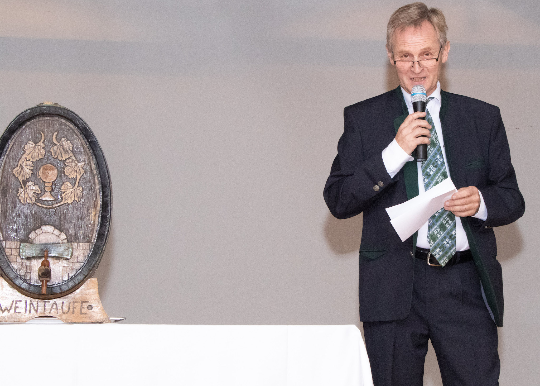 Weintaufe 2019 Vizebuergermeister Winzerhof Weiss
